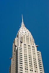 New York City, New York: Chrysler Building, architecture  .Photo #: ny302-15042  .Photo copyright Lee Foster, www.fostertravel.com, lee@fostertravel.com, 510-549-2202.