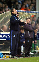 Photo: Olly Greenwood.<br />Colchester United v Leicester City. Coca Cola Championship. 13/01/2007. Leicester manager Rob Kelly