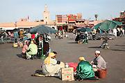 Place Jema al-Fna, Marrakech, Morocco, north Africa