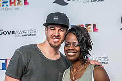 October 11, 2016 - Nashville, Tennessee, USA - Seth & Nirva at the 47th Annual GMA Dove Awards  in Nashville, TN at Allen Arena on the campus of Lipscomb University.  The GMA Dove Awards is an awards show produced by the Gospel Music Association. (Credit Image: © Jason Walle via ZUMA Wire)