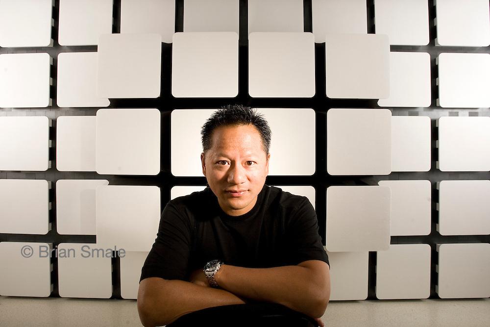Jen-Hsun Huang, CEO of Nvidia