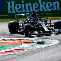 06.09.2020, Autodromo Nazionale di Monza, Monza, FORMULA 1 GRAN PREMIO HEINEKEN D'ITALIA 2020<br />,im Bild<br />Lewis Hamilton (GB#44), Mercedes-AMG Petronas F1 Team<br /> <br /> Foto © nordphoto / Bratic