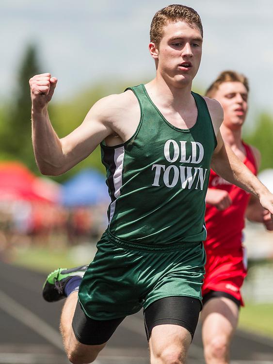 Maine State Track & Field Meet, Class B: boys 100 meter dash, Nicolas Boutin, Old Town