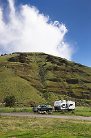 RV camping, Cottonwood Canyon State Park, Oregon
