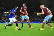 Samuel Eto'o of Everton runs at the West Ham defence - Everton vs. West Ham United - Barclay's Premier League - Goodison Park - Liverpool - 22/11/2014 Pic Philip Oldham/Sportimage