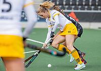 AMSTELVEEN - Laura Nunnink (DenBosch)  tijdens  de hoofdklasse hockey competitiewedstrijd dames, Amsterdam-Den Bosch (0-1)  COPYRIGHT KOEN SUYK