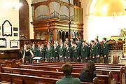 Concert at St James Church Sydney, part of the 2019 Australian International Music Festival