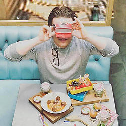 """Jamie Oliver releases a photo on Instagram with the following caption: """"Guys Kids Eat Free is back at @jamiesitalianuk this half term! Come and join us between 14 - 29th October. Kids get a main course, dessert and drink from the award winning menu when accompanied by an adult ordering a main course. Link in my bio for more info."""". Photo Credit: Instagram *** No USA Distribution *** For Editorial Use Only *** Not to be Published in Books or Photo Books ***  Please note: Fees charged by the agency are for the agency's services only, and do not, nor are they intended to, convey to the user any ownership of Copyright or License in the material. The agency does not claim any ownership including but not limited to Copyright or License in the attached material. By publishing this material you expressly agree to indemnify and to hold the agency and its directors, shareholders and employees harmless from any loss, claims, damages, demands, expenses (including legal fees), or any causes of action or allegation against the agency arising out of or connected in any way with publication of the material."""