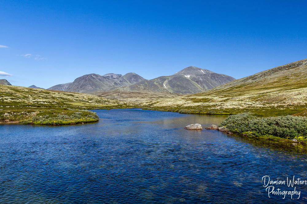 River at Rondane National Park, Norway - August