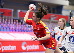 EHF Euro 2020 Group D match between Romania and Norway in Sydbank Arena, Kolding, Denmark on December 7, 2020. Photo Credit: Allan Jensen/Eventmedia.