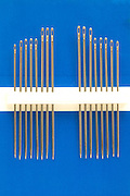 various length hand sewing needles on there carton