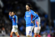 Ryan Williams (7) of Portsmouth during the EFL Sky Bet League 1 match between Portsmouth and Ipswich Town at Fratton Park, Portsmouth, England on 21 December 2019.