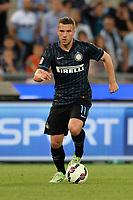 Lukas Podolski Inter.<br /> Roma 10-05-2015 Stadio Olimpico. Football Calcio 2014/2015 Serie A. Lazio - Inter. Foto Antonietta Baldassarre / Insidefoto