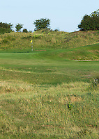 ZANDVOORT - Hole 3, gezien vanaf de tee.  Kennemer Golf Club. COPYRIGHT KOEN SUYK Copyright Koen Suyk