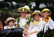 Kamehameha Parade, Waimea, Kamuela, Island of Hawaii