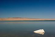Abert Lake, a large inland salt water (alkalai) lake in Southern Oregon.