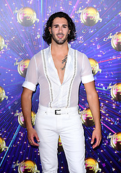 Graziano Di Prima arriving at the red carpet launch of Strictly Come Dancing 2019, held at BBC TV Centre in London, UK.