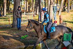 Saey Maite, BEL, Widdy<br /> LRV Ponie cross - Zoersel 2018<br /> © Hippo Foto - Dirk Caremans<br /> 28/10/2018