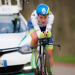 09-04-2016: Wielrennen: Energiewachttour vrouwen: Roden<br /> LEEK (NED) wielrennen<br /> De vijfde etappe van de Energiewachttour was een individuele tijdrit met start en finish in Leek. Annemiek van Vleuten werd derde op de tijdrit