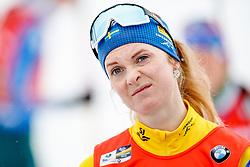 March 16, 2019 - –Stersund, Sweden - 190316 Mona Brorsson of Sweden ahead of  the Women's 4x6 km Relay during the IBU World Championships Biathlon on March 16, 2019 in Östersund..Photo: Johan Axelsson / BILDBYRÃ…N / Cop 245 (Credit Image: © Johan Axelsson/Bildbyran via ZUMA Press)