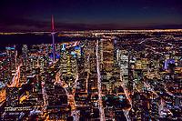 Downtown Toronto featuring King Street (center)
