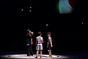 Silvia Mezzanotte, panoramica Unipol Arena<br /> Segafredo Virtus Bologna - Kontatto Fortitudo Bologna<br /> Campionato Basket LNP 2016/2017<br /> Bologna 06/01/2017<br /> Foto Ciamillo-Castoria
