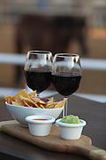 Red wine and avocado dip