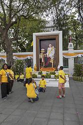 Coronation of the King of Thailand, Rama X, His Majesty King Maha Vajiralongkorn Bodindradebayavarangkun, Bangkok, Thailand, on May 04, 2019. Photo by Loic Baratoux /ABACAPRESS.COM