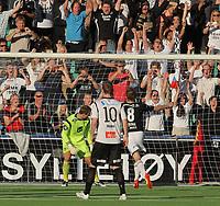 Fotball , 12. AUG 2012, Tippeligaen Eliteserien , Sogndal - Rosenborg<br /> Nils Kenneth Udjus, Ørjan Hopen Sogndal. Borek Dockal, Rosenborg<br /> Foto: Christian Blom , Digitalsport