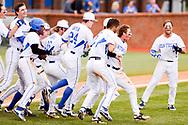 Tyler Marshall. Team.<br /> <br /> The University of Kentucky baseball defeats Florida 5-4 in Lexington's Cliff Hagen Stadium on Sunday, March 27, 2016.<br /> <br /> Photo by Elliott Hess   UK Athletics