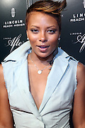 """Eva Pigford at """" Lincoln After Dark """" sponsored by Lincoln Motors and hosted by Idris Elba and Steve Harvey and music by Biz Markie during the 2009 Essence Music Festival and held at The Contemporary Arts Center in New Orleans on July 4, 2009"""