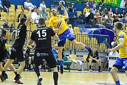 Branko Vujovic of Celje during handball match between RK Celje Pivovarna Lasko and RK Gorenje Velenje in last round of Liga NLB 2018/19, on May 31st, 2019, in Arena Zlatorog, Celje, Slovenia. RK Celje PL became Slovenian National Champion in year 2019. Photo by Milos Vujinovic / Sportida