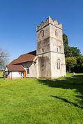 Village parish church of Saint Mary, Offton, Suffolk, England, UK
