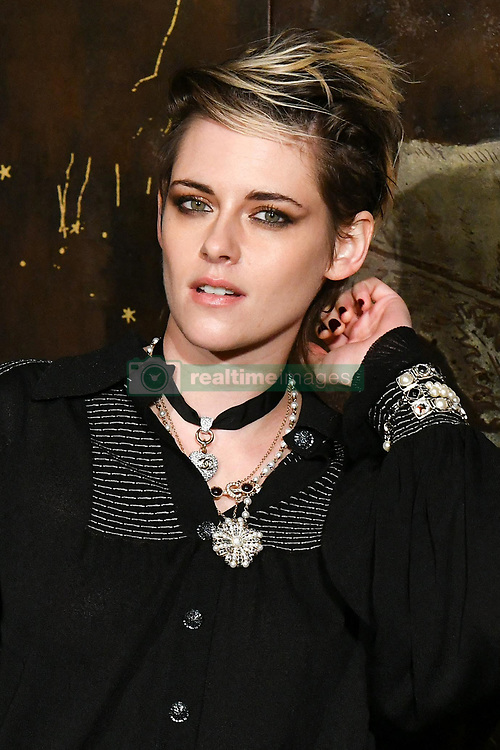 File photo dated December 4, 2019 of Kristen Stewart attends the photocall of the Chanel Metiers d'art 2019-2020 show at Le Grand Palais in Paris, France. Twilight actress Kristen Stewart will play Princess Diana in a new film about the late princess's break-up from Prince Charles, according to reports. Stewart will star in Spencer, set in the early 1990s, which will be scripted by Peaky Blinders creator Steven Knight, Hollywood news sites say. Photo by Laurent Zabulon/ABACAPRESS.COM