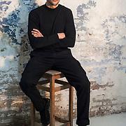 Sergi Muñoz Lozano, at Ioco Studio & Gallery, Sant Martí quarter.Barcelona.Spain.
