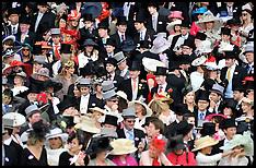 Royal Ascot Crowds June 2012