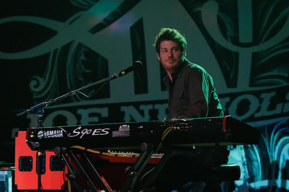 Keyboardist Dave Cohen