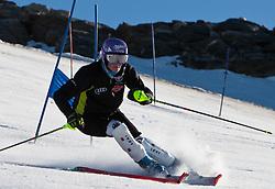 04.11.2011, Moelltaler Gletscher, Flattach, AUT, DSV Medientag, im Bild Maria Riesch in action, Slalom // During media day of German Ski Federation DSV at Moelltaler glacier in Flattach, Carinthia, Austria on 4/10/2011. EXPA Pictures © 2011, PhotoCredit: EXPA/ J. Groder