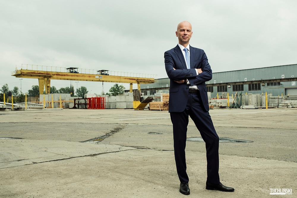 Poznań, Polska. 17.05.2019r Przemysław Adam Borek Prezes Zarzadu firmy Pekabex Bet S.A<br /> Fot. Adam Tuchlinski dla Forbes