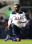 Tottenham's Danny Rose with paint on his face during the Premier League match at White Hart Lane Stadium, London. Picture date December 14th, 2016 Pic David Klein/Sportimage