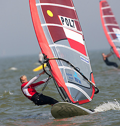 RS:X Women. Medemblik - the Netherlands, May 22nd 2012. Delta Lloyd Regatta in Medemblik (22/26 May 2012). Day 1.
