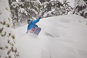 Lee Collins (TahoeLab).  Lake Tahoe Basin.  California.