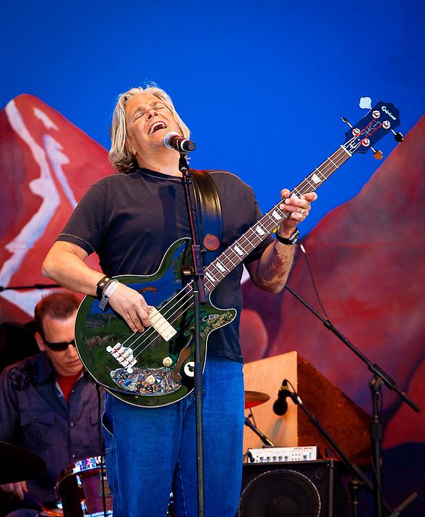 John Cowan performing at the Telluride Bluegrass Festival.