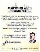 University Pitch Madness 2019