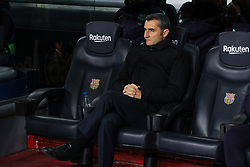 January 30, 2019 - Barcelona, BARCELONA, Spain - Valverde of Barcelona during Spanish King championship, football match between Barcelona and Sevilla, January  30th, in Camp Nou Stadium in Barcelona, Spain. (Credit Image: © AFP7 via ZUMA Wire)