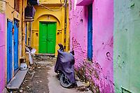 Inde, Delhi, quartier de Chawri Bazar // India, Delhi, New Delhi, Chawri Bazar district