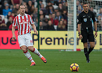 Football - 2016 / 2017 Premier League - West Ham United vs. Stoke City<br /> <br /> Charlie Adam of Stoke City at The London Stadium.<br /> <br /> COLORSPORT/DANIEL BEARHAM