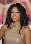 """WESTWOOD, CA - APRIL 28: Kali Hawk arrives at the premiere of Universal Pictures' """"Bridesmaids"""" held at Mann Village Theatre on April 28, 2011 in Los Angeles, California."""