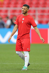 June 22, 2018 - Moscow, RUSSIA - Tunesia's Anice Badri pictured during a training session of Tunisian national soccer team in the Spartak stadium, in Moscow, Russia, Friday 22 June 2018. The team is preparing for their second game against Belgium tomorrow at the FIFA World Cup 2018. BELGA PHOTO BRUNO FAHY (Credit Image: © Bruno Fahy/Belga via ZUMA Press)