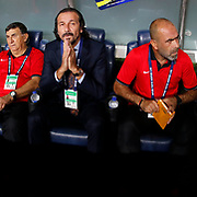 Antalyaspor's Yusuf Simsek during their Turkish superleague soccer match Fenerbahce between Antalyaspor at the Sukru Saracaoglu stadium in Istanbul Turkey on Sunday 30 August 2015. Photo by Kurtulus YILMAZ/TURKPIX